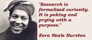 zora and research