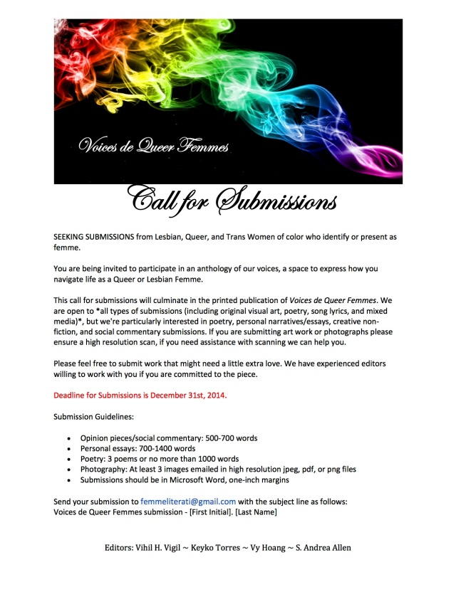 Voices de Queer Femmes Call for Submissions (1) copy