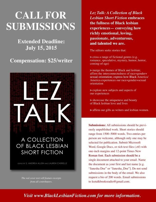 Lez Talk CFS Flyer